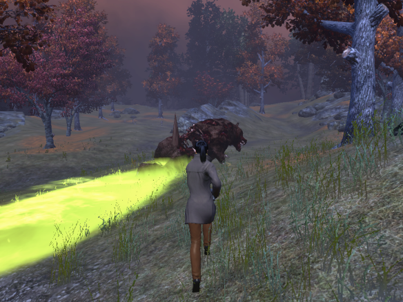 A zombie bear corpse in The Secret World