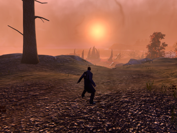 Sunset on Blue Mountain in The Secret World