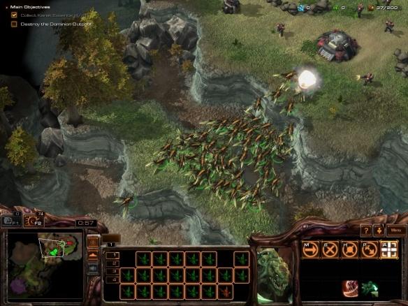 Raptor strain zerglings in Starcraft II: Heart of the Swarm