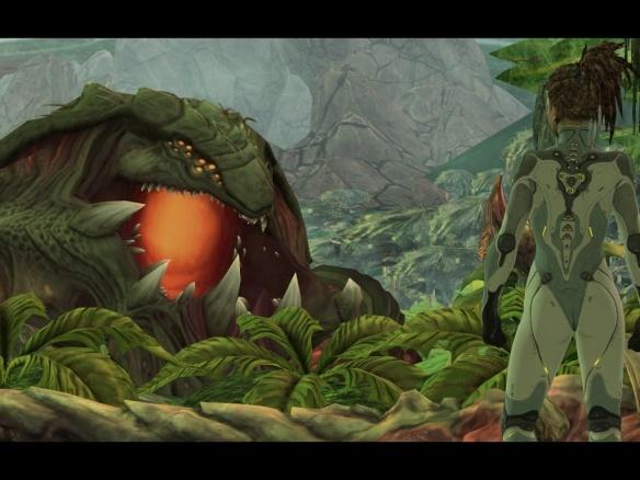 Sarah Kerrigan and the Primal Zerg Zurvan in Starcraft II: Heart of the Swarm