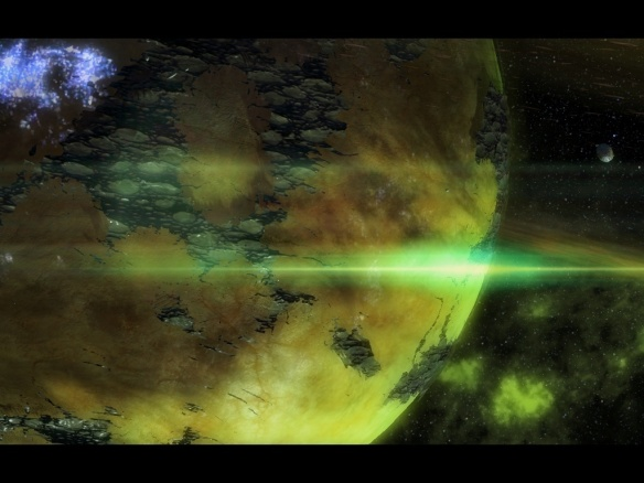 The Zerg infest a planet in Starcraft II: Heart of the Swarm