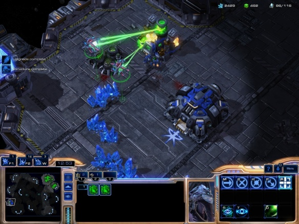 Oracles in the new Heart of the Swarm expansion for Starcraft 2