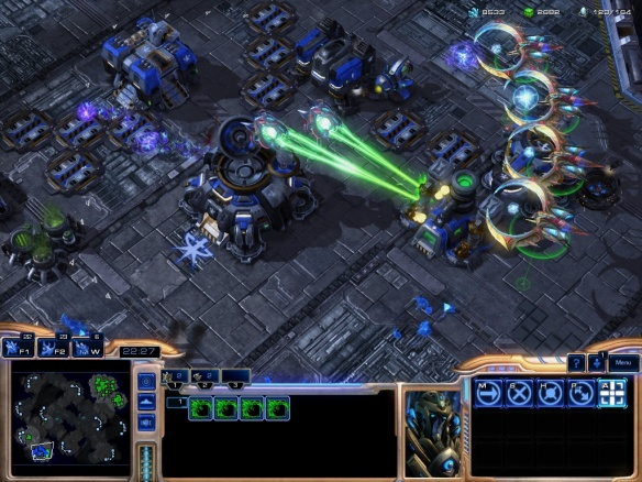 The new oracles and tempests in Starcraft 2: Heart of the Swarm