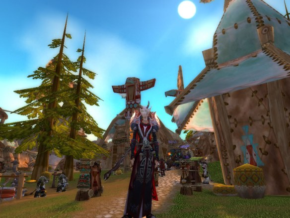 My warlock in Thunder Bluff