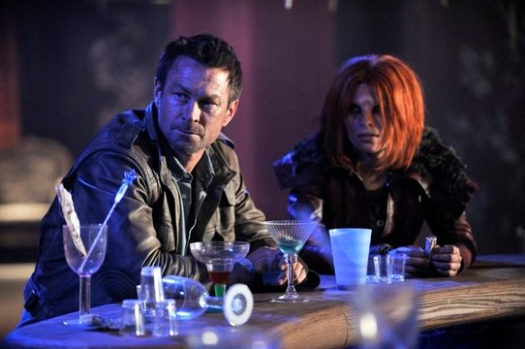 Nolan and Irisa in Defiance