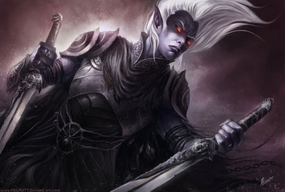 Art of a Drow warrior