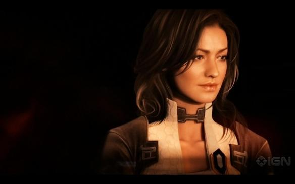 Miranda Lawson of the Mass Effect games