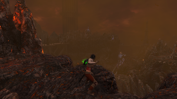 The scenery in The Secret World's Hell Raised dungeon