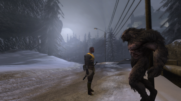 The werewolf Traian in The Secret World
