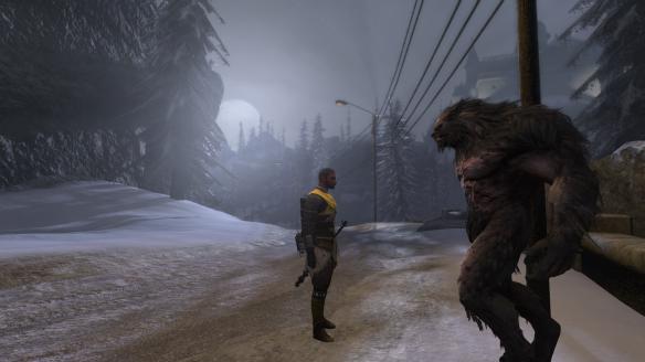 The werewolf Traian in The Secret World
