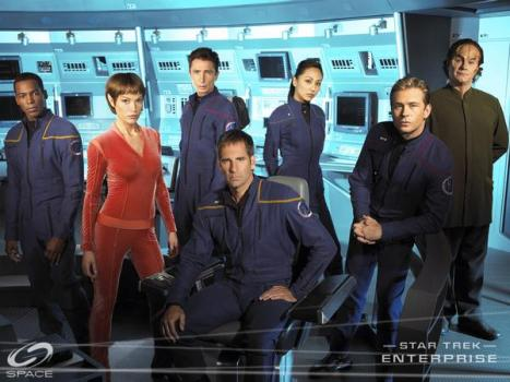 The cast of Star Trek: Enterprise