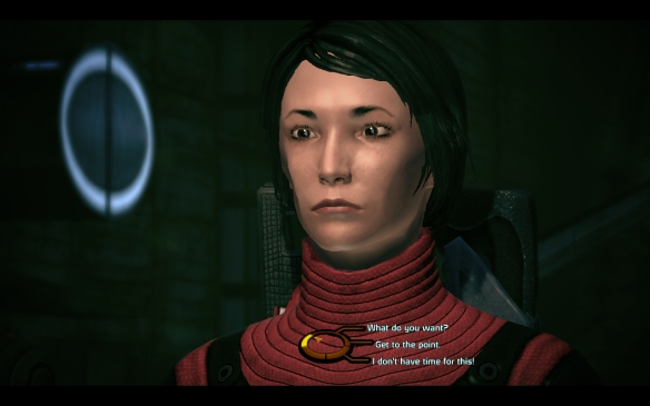 My new Shepard in Mass Effect