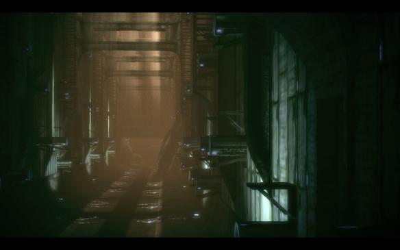 The Prothean ruins of Ilos in Mass Effect