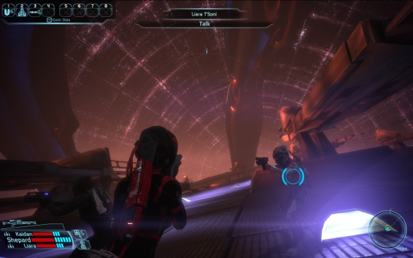 The Battle of the Citadel in Mass Effect