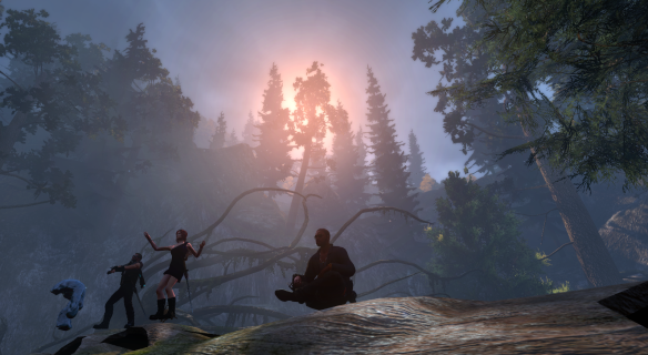Celebrating The Secret World's anniversary in the Shadowy Forest