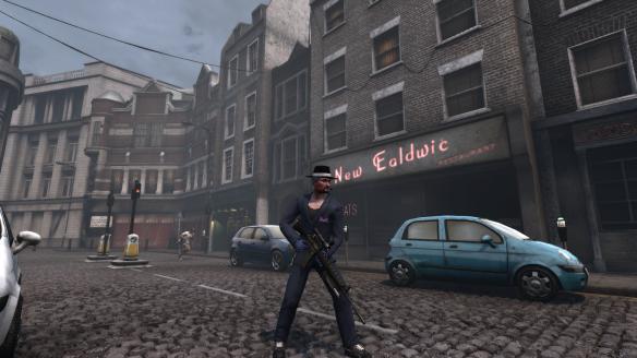 "My Illuminati alt shows off his ""gangsta"" look in London in The Secret World"
