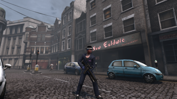 "My Illuminati alt shows off his ""gangsta"" look in London in The Secret World"
