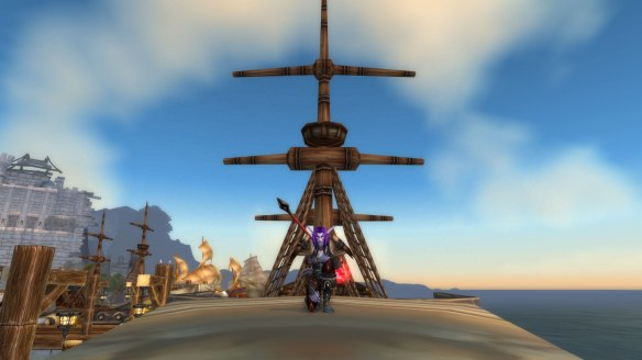 My monk sailing to Northrend