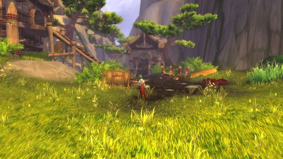 The Secret Aerie hidden in Pandaria's mountains