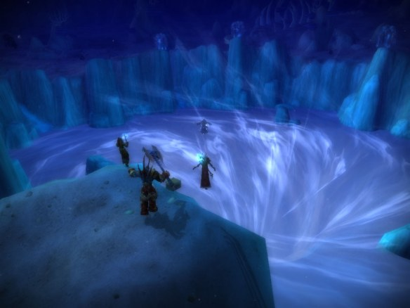 The breach in Vashj'ir during the Elemental Bonds quest chain