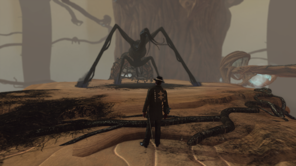 She Who Crawls Outside in corrupted Agartha in The Secret World