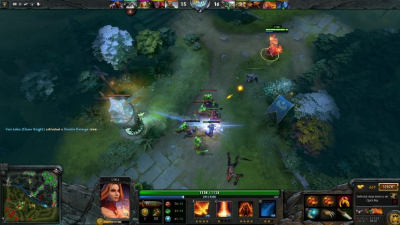 I push a lane in DOTA 2