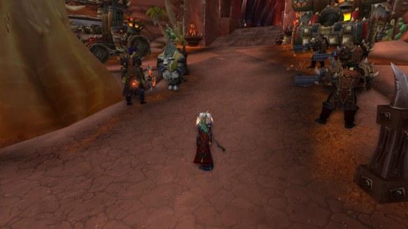 The Kor'kron arrest Gamon in World of Warcraft's patch 5.4