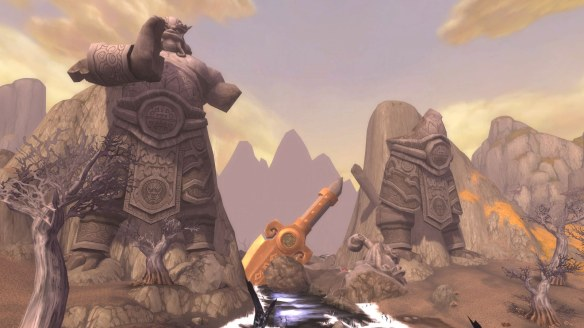 The Vale of Eternal Sorrows in World of Warcraft