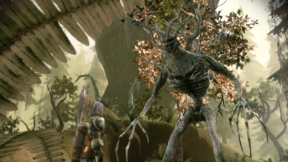 Speaking to the elder oak in Dragon Age: Origins