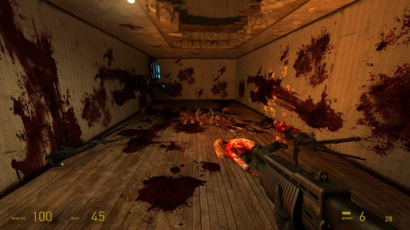 Half-Life 2 is a not a game for the weak of stomach...