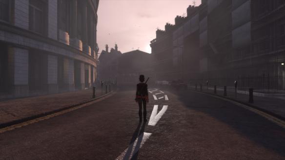 My Templar enjoys the evening air in The Secret World's London