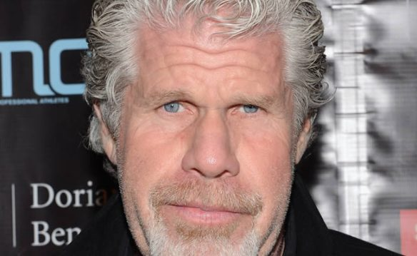 Ron Pearlman, star of Hellboy and all around awesome dude