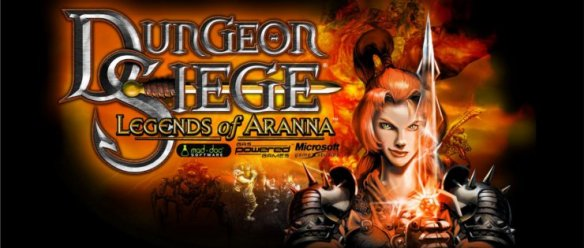 The logo for Dungeon Siege