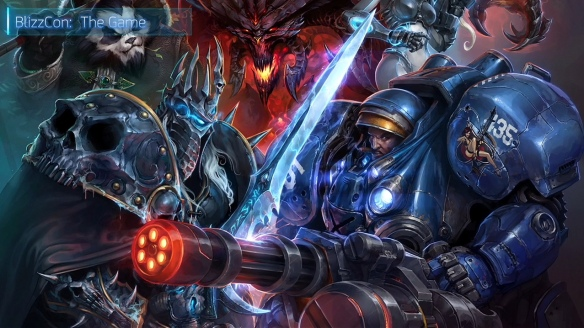 Promotional art for Heroes of the Storm