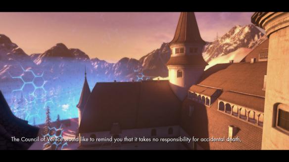 The intro cinematic for the Castle scenario in The Secret World