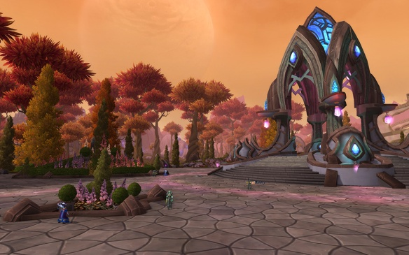 A screenshot of Telador in World of Warcraft: Warlords of Draenor
