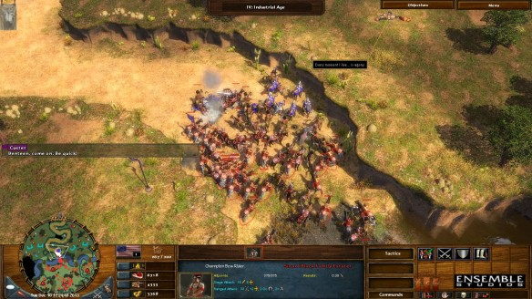 The Battle of the Little Big Horn in Age of Empires III