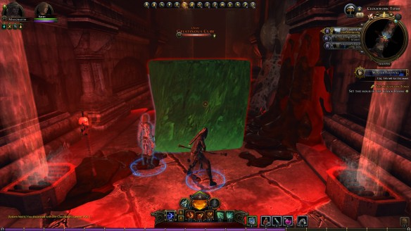 A gelatinous cube in Neverwinter