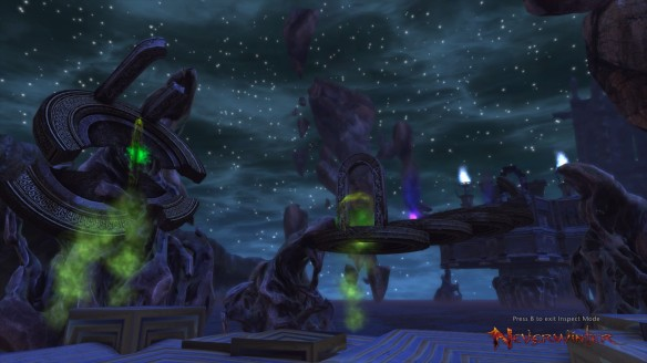 A surreal dreamworld in a Neverwinter Foundry quest