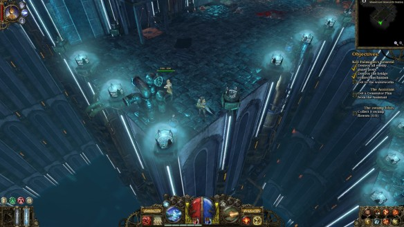 A hidden lab in The Incredible Adventures of Van Helsing
