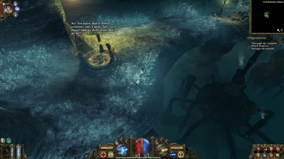 The obligatory spider filled mine in The Incredible Adventures of Van Helsing