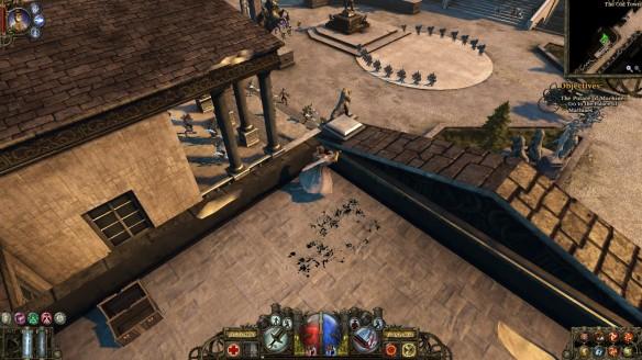 The Old Town of Borgova in The Incredible Adventures of Van Helsing