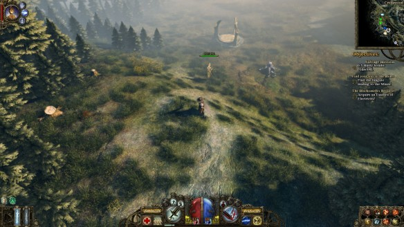 The woods of BorgoviaThe woods of Borgovia in The Incredible Adventures of Van Helsing