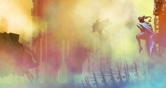 Concept art for City of Titans