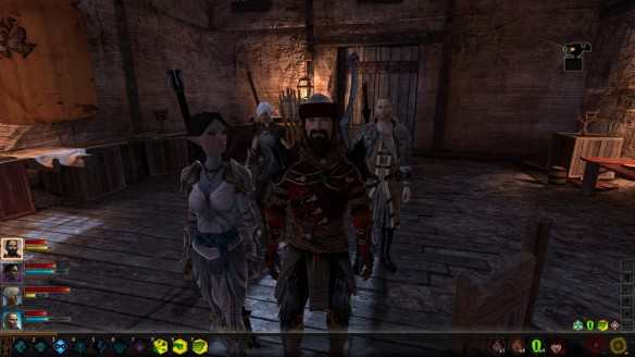 My party in Dragon Age 2