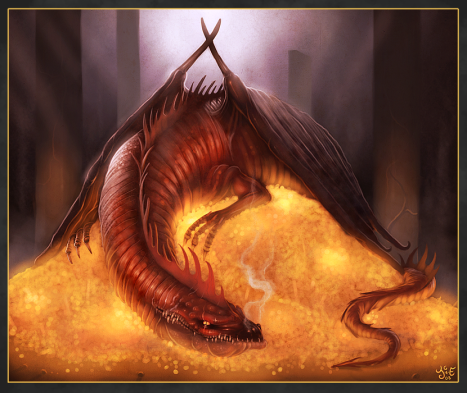 Artwork of Smaug the Stupendous