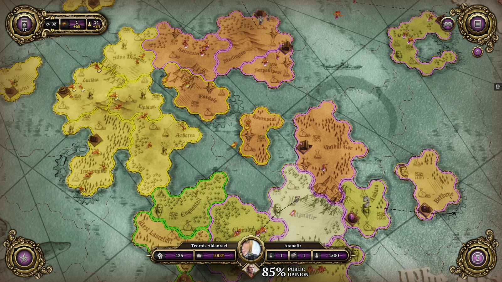 Review divinity dragon commander superior realities the strategy map in divinity dragon commander gumiabroncs Choice Image