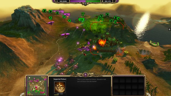 Besieging an enemy capitol in Divinity: Dragon Commander