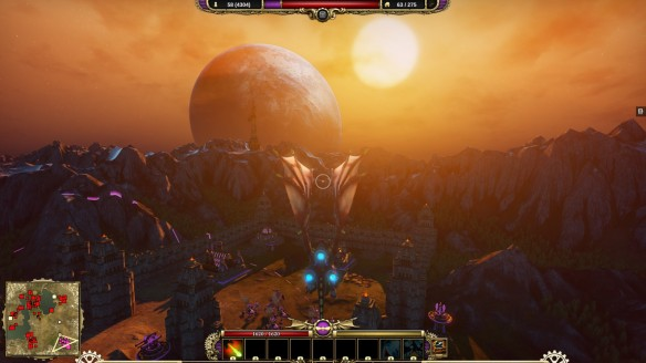 Flying across the land in dragon mode in Divinity: Dragon Commander