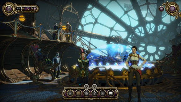The bridge of the Raven in Divinity: Dragon Commander
